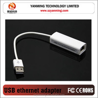 Ethernet External USB to Lan RJ45 Network Card Adapter 10/100 Mbps For Laptop PC