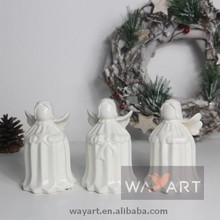 New Selling White 3 Asst Paper Folding Angels Bells