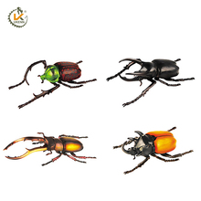 cheap price plastic zoo 3d animal toys insect for kids as a promotional gift
