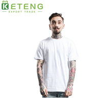 White blank plain 130 grams mens tshirt t shirt