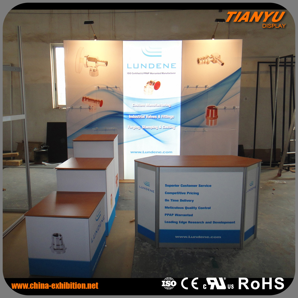 Factory Price Universal Customized Trade Show Andon Led Display Exposure System Booth