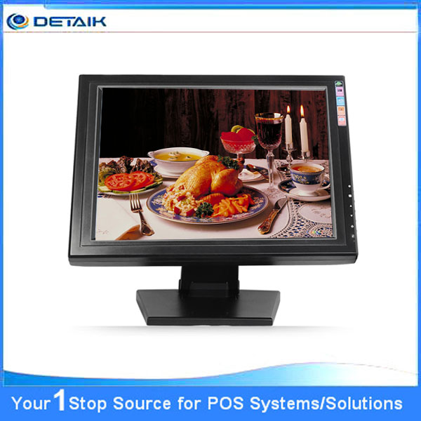 DTK-1568R Resistive5 TFT LCD LED Touch Screen Monitor For POS