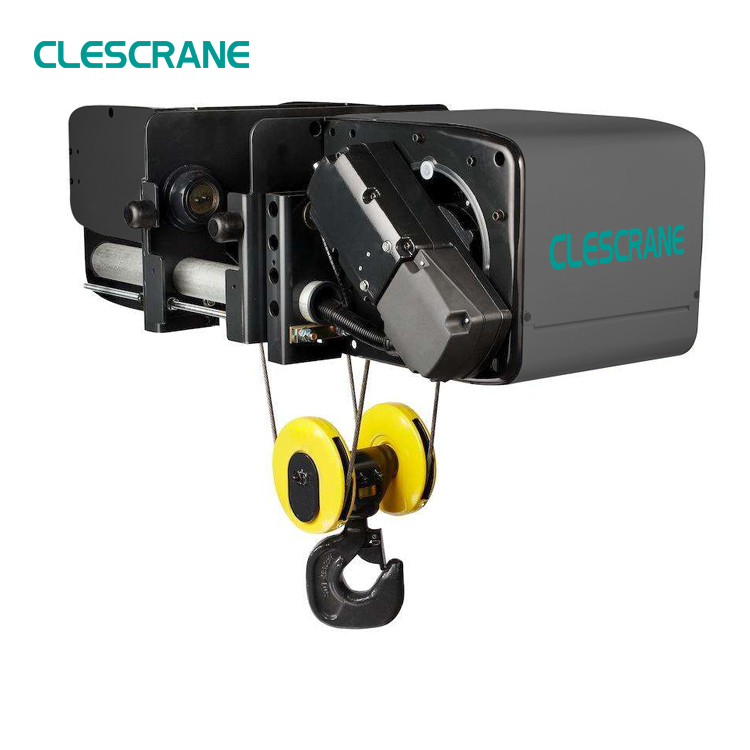 Electric Wire Rope Hoist Pulley System For Lifting Goods 1.5 Ton ...
