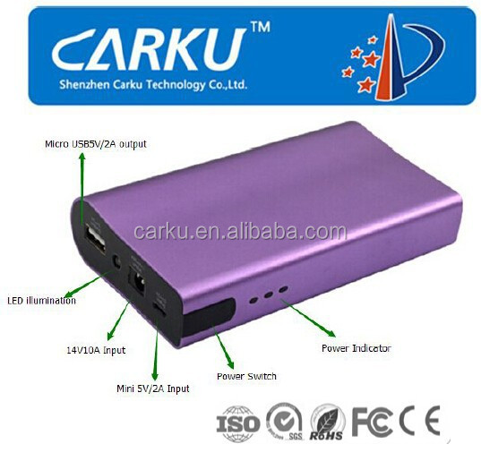 6000mAh portable power bank external battery 18650 power bank for phone with USB