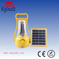 6V/2W Rechargeable LED Solar Camping Lantern (Energy-Saving)