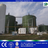 anaerobic digestion and application of the methane