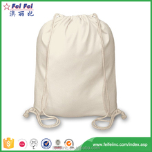 Chian Suppliers Wholesale Recycled Plain Custom Printed cotton drawstring shoe bags