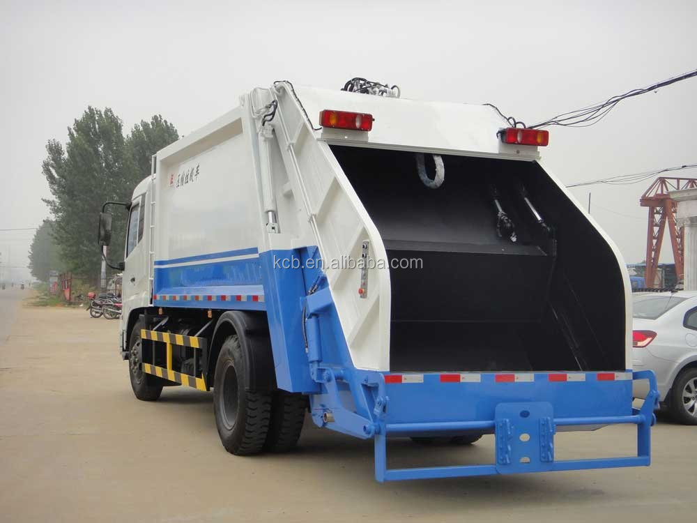 rubbish truck made in China