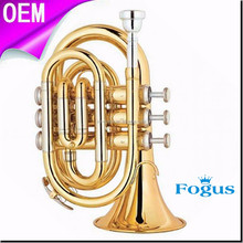 Wholesale Hot Sale High Quality Pocket Trumpet FPT-200L