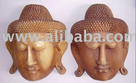 High Quality Religious Wooden Buddha Craft for Sale