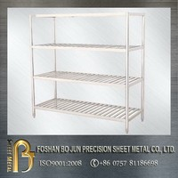 FOSHAN BOJUN custom stainless steel stacking shelf