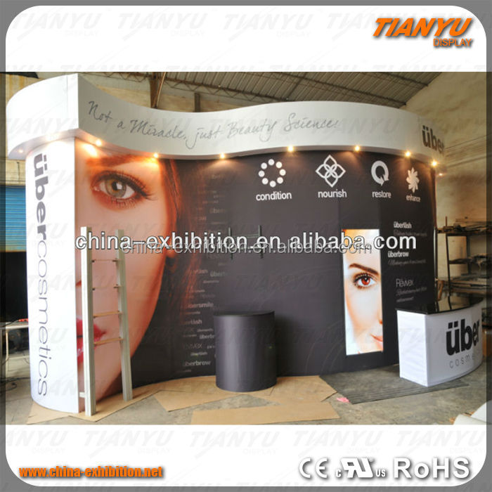 tension fabric tradeshow booth