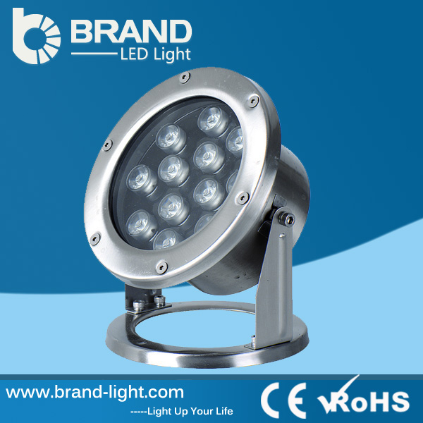 Hot Sale Best Price Stainless Steel DMX IP68 Pool LED Light RBG LED Pool Light, CE RoHS