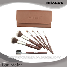 Graceful beauty needs wholesale for women high quality clear handle makeup brush set