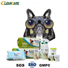 Clean Eyes Mouth Disinfectant Animal Hot Sell Soft Pet Cleaning Wet Wipes
