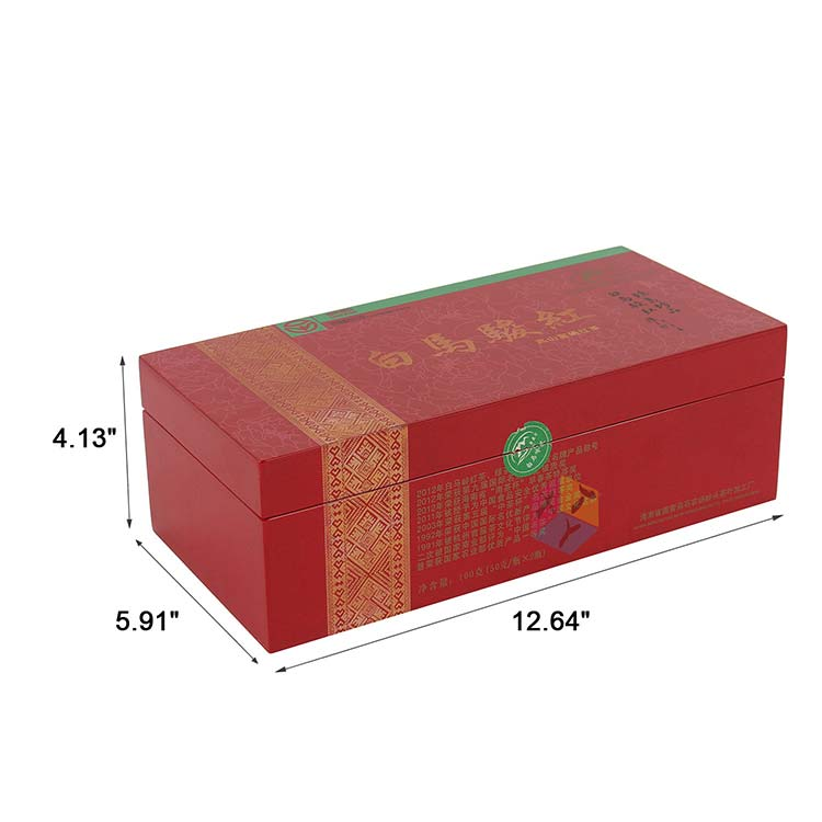 red tea luxury packaging presentation boxes manufacturers