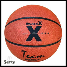 official size OEM brand PU real leather indoor basketball