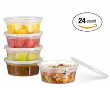 Deli Food Storage Plastic Container With Lids