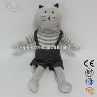 Plush cat toys, stuffed animal toys, soft cat toy with cloth