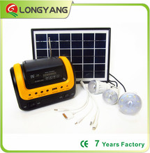 2016 new model solar energy light solar lantern lighting with radio and MP3 player