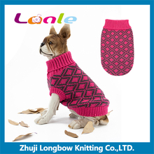 Wholesale thermal dog clothes sweater for winter