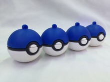 Promotional special small pokemon ball USB silicone memory flash stick drive