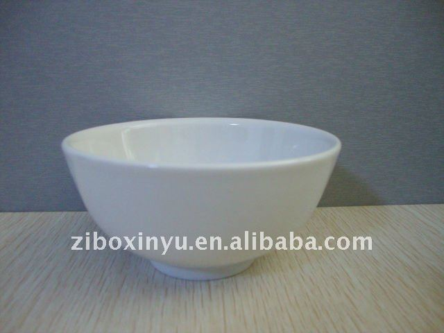 White color Ceramic bowl for promotion