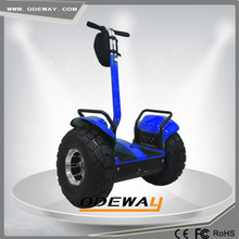 Hot selling two wheels off road electric balance motorcycle with bag