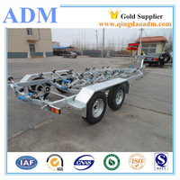 Aluminum Boat Trailer With Double Axles