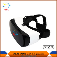 3d glasses vr google cardboard 3d video glasses virtual reality power amplifier