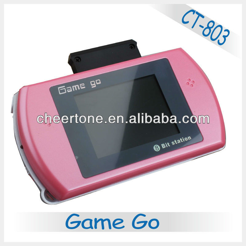 16 bit pocket game console and 2.7 inch screen