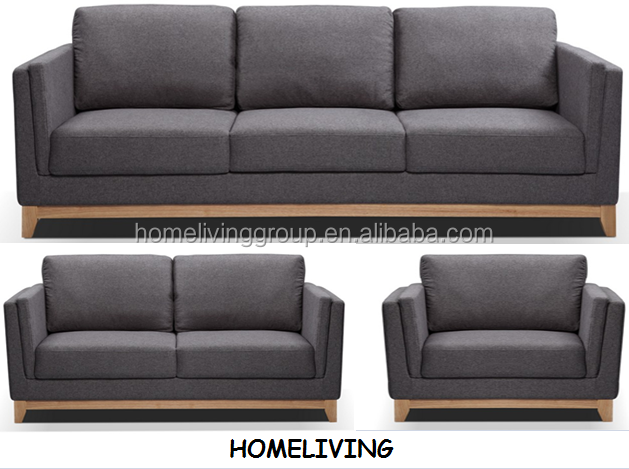 2016 fashion living room modern fabric sofa furniture 1 2 for 7 seater living room