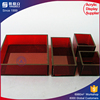 Various shape color clear acrylic tray chilled serving tray party platters condiment and vegetable serving display