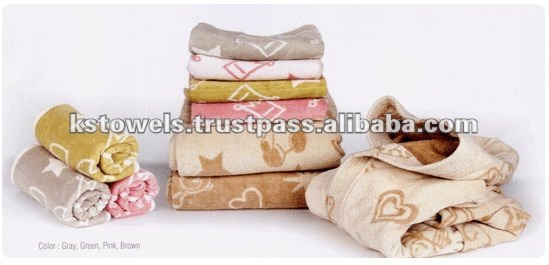 ECO-Friendly Organic HANSHIN 100% Cotton towel