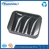 popular foldable plastic flock trays for crafts for food packaging
