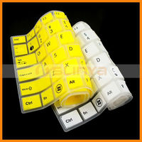 Colored Rubber Laptop Keyboard Covers for HP Silicone Keyboard Cover