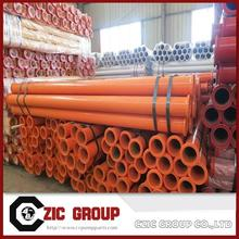 Zoomlion Dn125*4.5Mm*3M St52 Seamless Pipe With 148Mm Flange For Concrete Pump Spare Parts