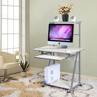 hot sell steel wooden table computer desk photos