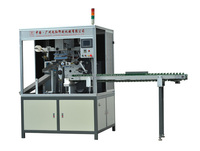 cosmetic plastic tube carousel screen printing machine, cyliner screen printing machine, round screen printing machine
