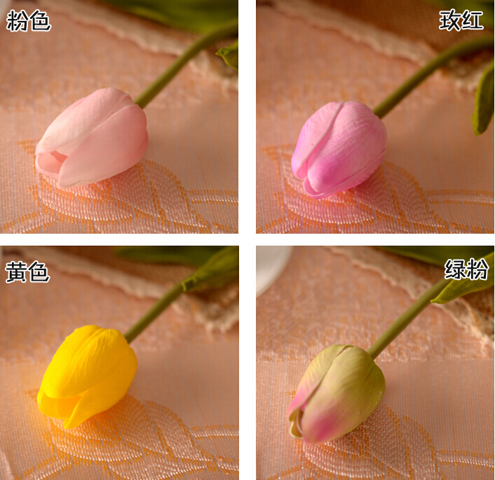 Home Mini Artificial Handle Rose Flower With Potted For
