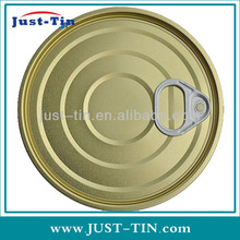 Y603 153.4mm easy open tinplate metal paint cans lids
