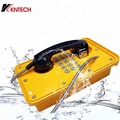 Full Keypad Industrial IP66 Waterproof Telephone KNTECH KNSP-09 Emergency Telephone