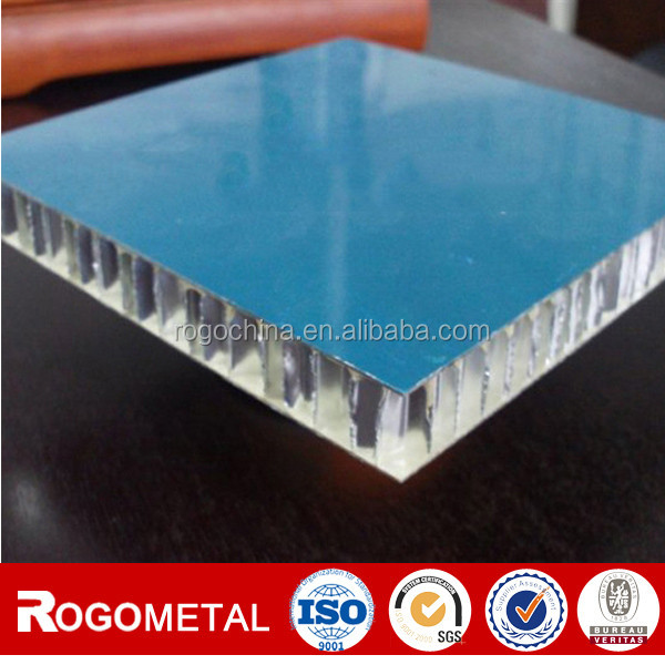 Aluminum foil honeycomb wood panel with thickness 10/15/20mm
