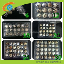 Manufacture sale plastic 30 quail egg tray packaging , PET PVC egg cable tray price 6/10/12/15/18/24/30 packs