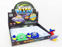 New item light up and musical spinning top toy wind up beyblade spin top EN71