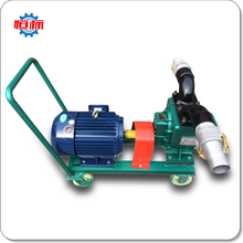 Hengbiao send appropriate concentration YHCB electric unloading waste truck double circular arc gear oil pump