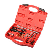 Damaged Glow Plug Removal Remover Thread Repair Car Garage Tool Kit Set 8mm 10mm Auto Tool