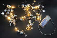 bling bead chain shinning beads string lights bright party lights
