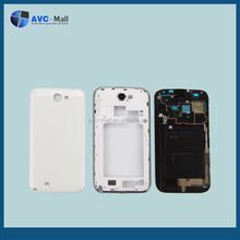 cell phone spare parts for Samsung Galaxy Note2 N7100 full housing white