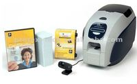 Zebra ZXP series 3 single/dual sided YMCKO ID card printer supply personal card